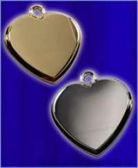 Кулон сердечко с кольцом и фотогравировкой
