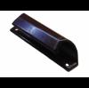 Ручка балконная металлическая (коричневая)